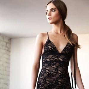 Nightcap Classic Lace Slip Dress